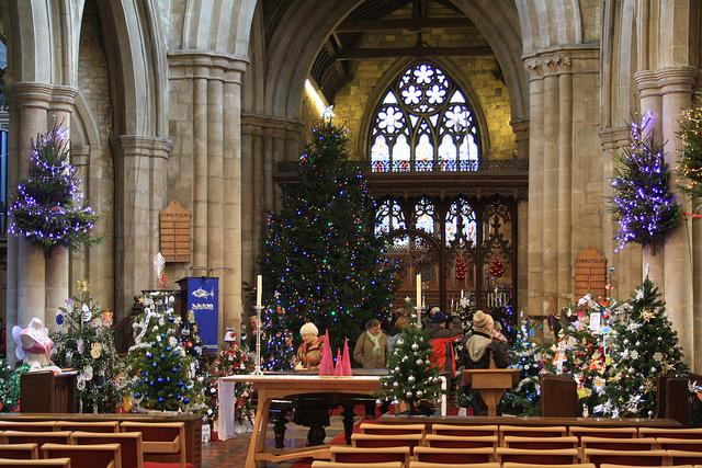 Melton Mowbray - Christmas Tree Festival